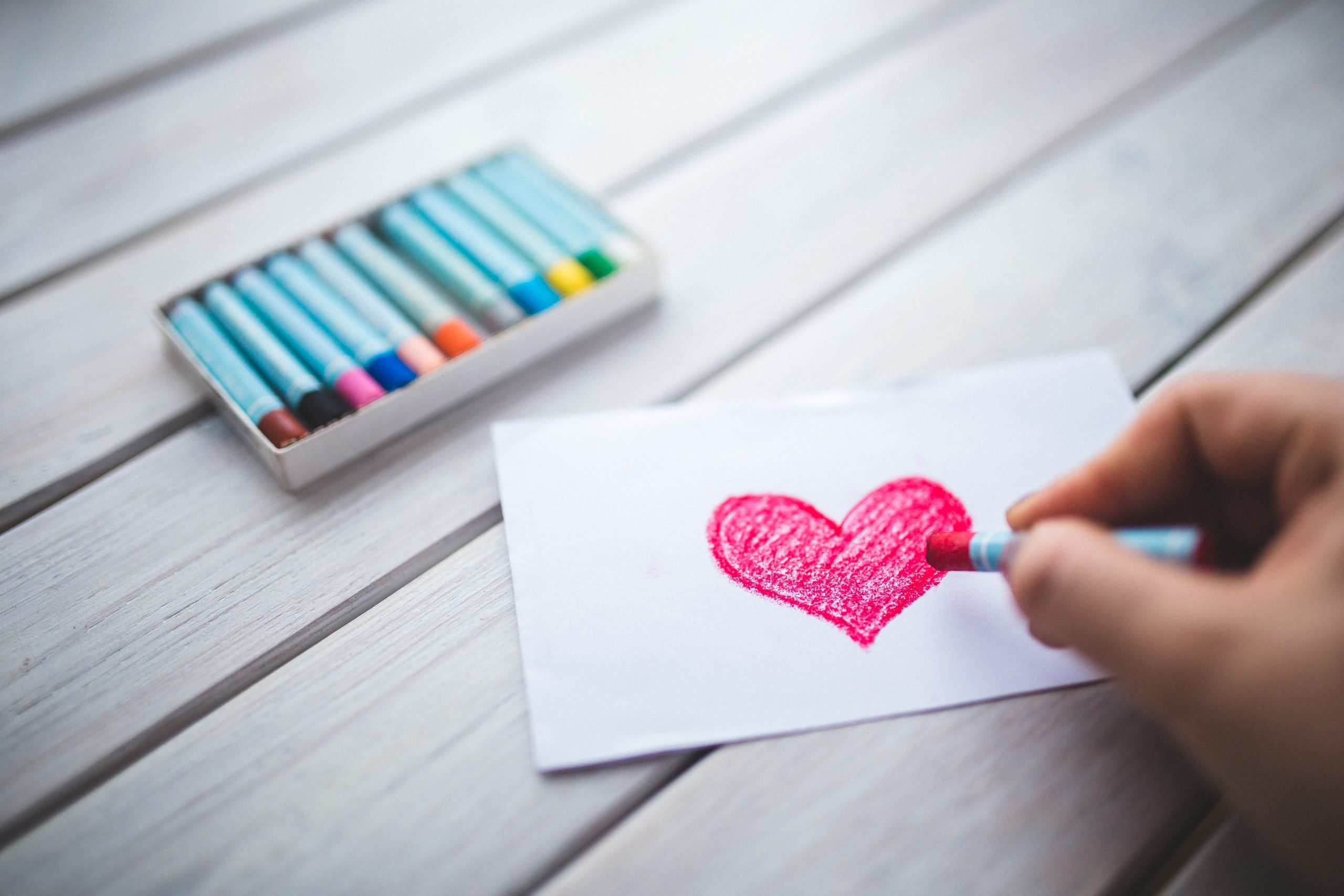 The Daily Reminder - Day 5: Kids + Love letters - Make Words Matter